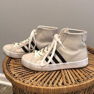 Adidas High Top Sneakers sz 6 1/2